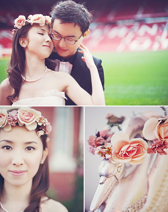 Manchester Stadium Wedding Engagment From Hong Photography Studio