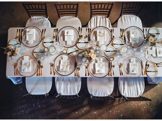 Beautiful Fall Wedding at Nestldown by Kate Webber Photography
