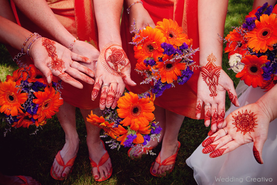 Indian and Western Traditions Combine for Wedding Bliss