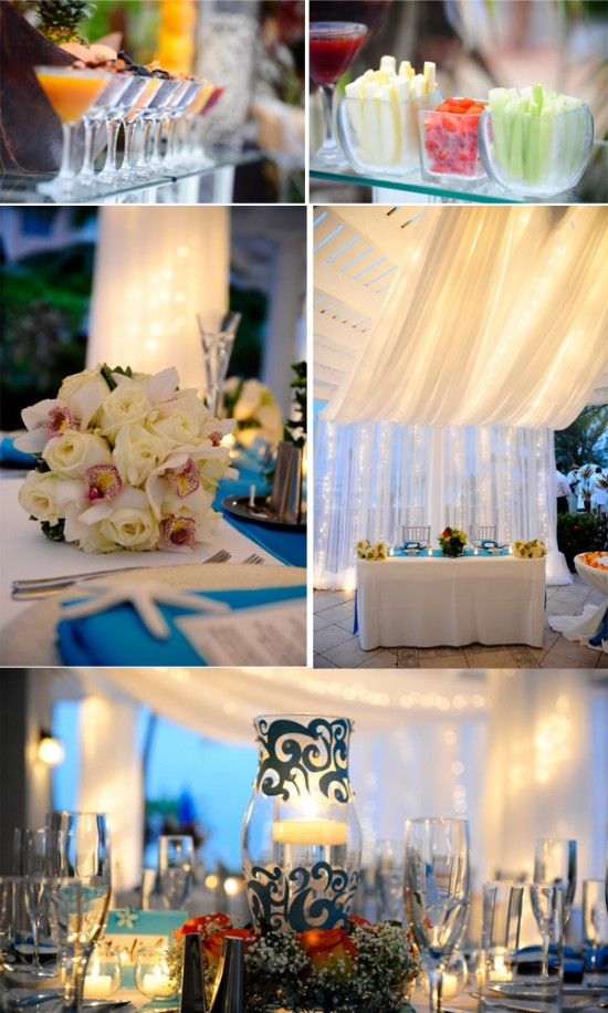 Cayman Islands Real Wedding ::  Jennifer and Rashad