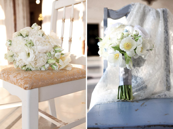 Winter Wonderland Wedding Floral Details