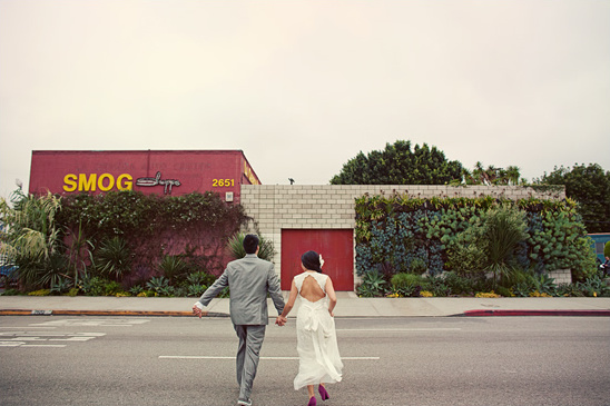 Smog Shoppe Wedding From He and She Photography