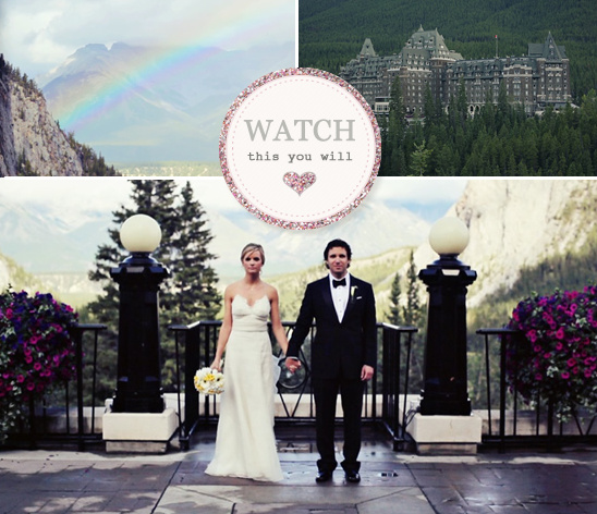 Imago Weddings Cinematography In Banff, Canada