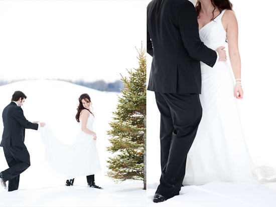 Holly + Andrew - Winter Wonderland