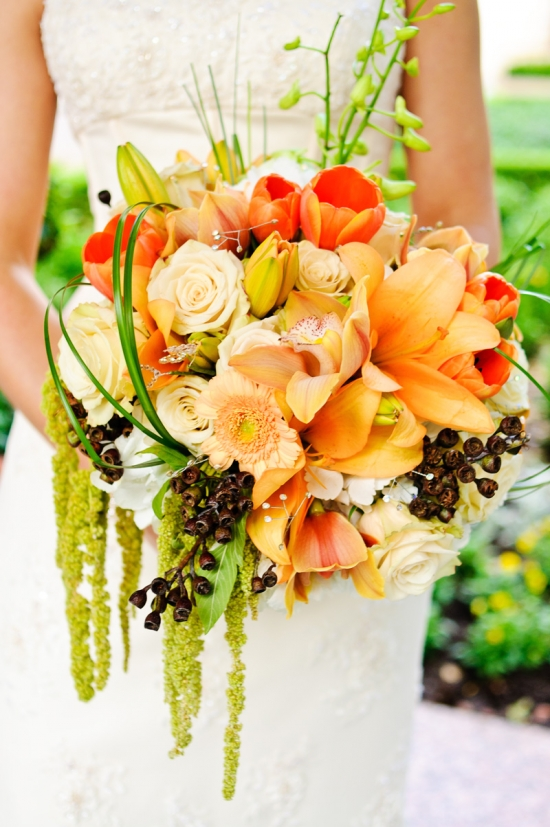 Dallas Crescent Hotel Wedding Brides Bouquet