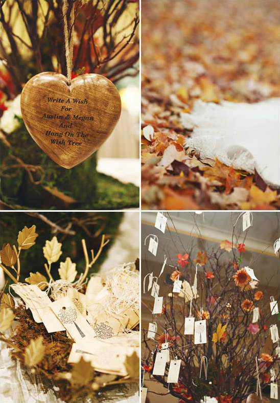 Woodland Theme Fall Wedding From Ulmer Studios