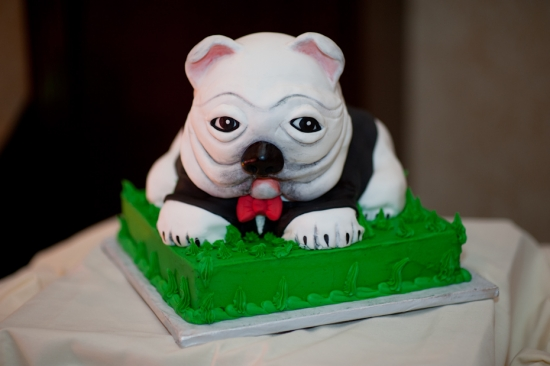 UGA Wedding Cake