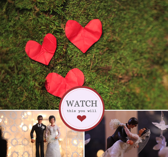 Stop Motion Wedding Video From Tiger In A Jar