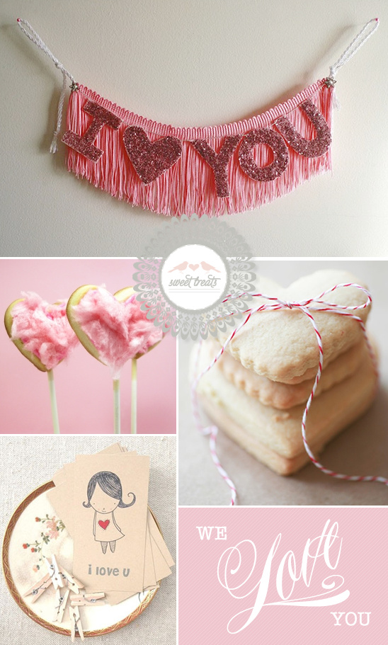 Sweet Treats + Valentine's Goodies