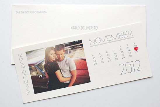 Indie style 2012 do it yourself photo save the date calendar cards solutioingenieria Gallery