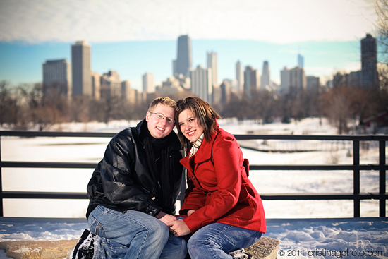 After the [snow]Storm - Chicago Winter Engagement Photography