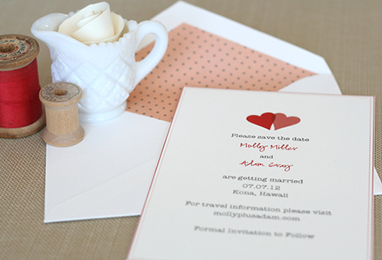 Free Heart Save The Date From Betsywhite Stationery