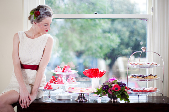Valentine Wedding Inspiration From Christina Diane