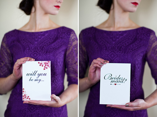 Exquisite Do It Yourself Will You Be My Bridesmaid Cards
