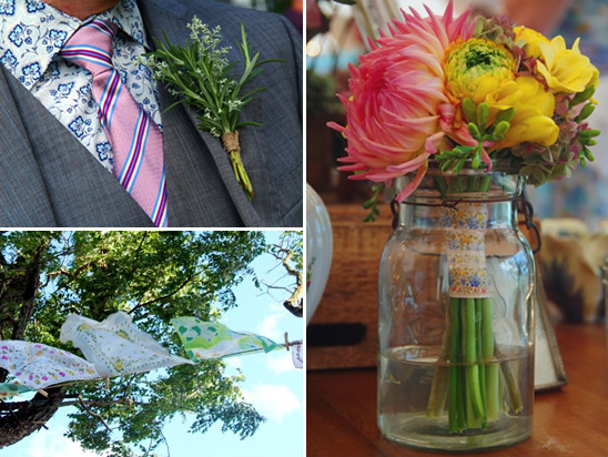 Vintage Garden DIY Wedding Ideas