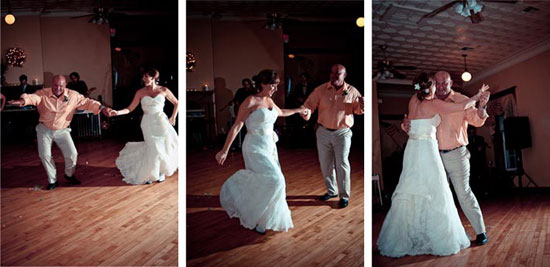 bride and daughter country first dance