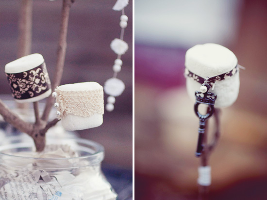 Pittsburgh, PA Engagement | Twigs and Marshmallows DIY Centerpieces