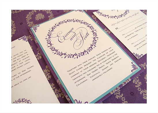 Blue Magpie Hand Crafted Invitations
