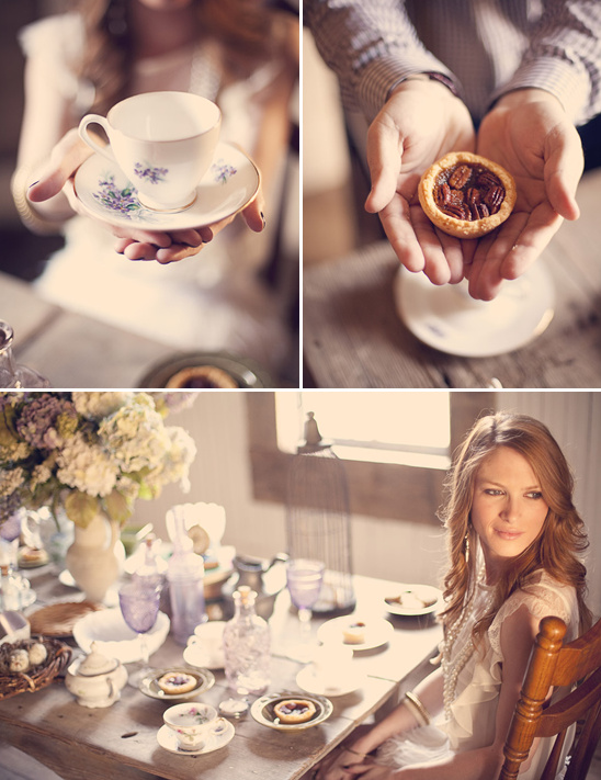 Tea Party Engagement From Three Nails Photography