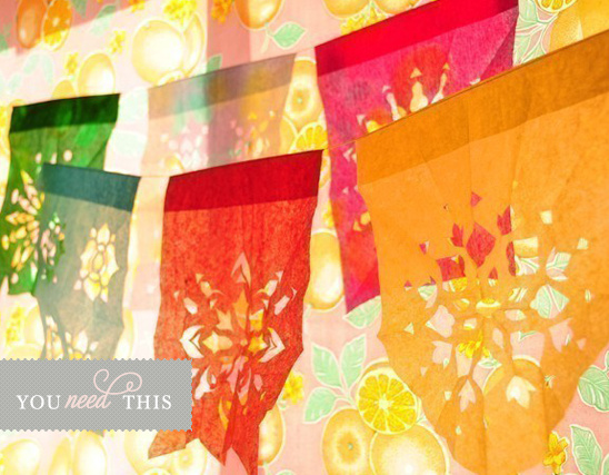 You Need This Papel Picado Banner