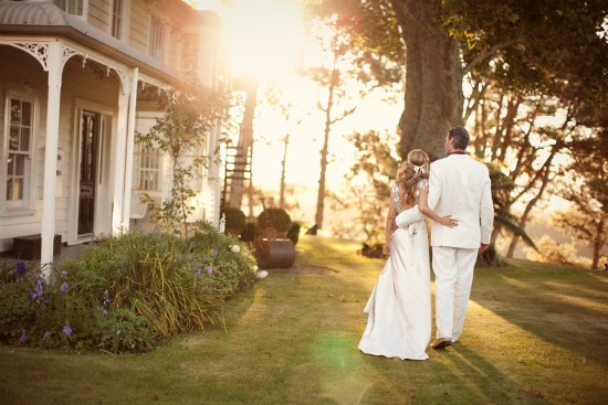 Private Courtyard Wedding in New Zealand