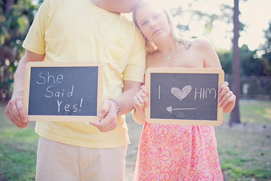 Palm Beach Engagement From Laura Leslie Photography