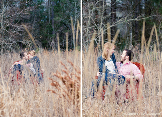 The Woodlands Engagement Session | Mustard Seed Photography