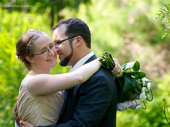 Wedding Photo: couple married in Ottawa, Canada