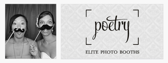 Poetry Elite Photo Booths