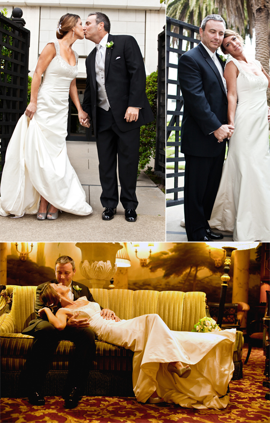 Wedding at the Fairmont Hotel in San Francisco, CA