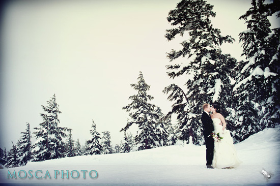 Wintery - Snowy Wedding Goodness!