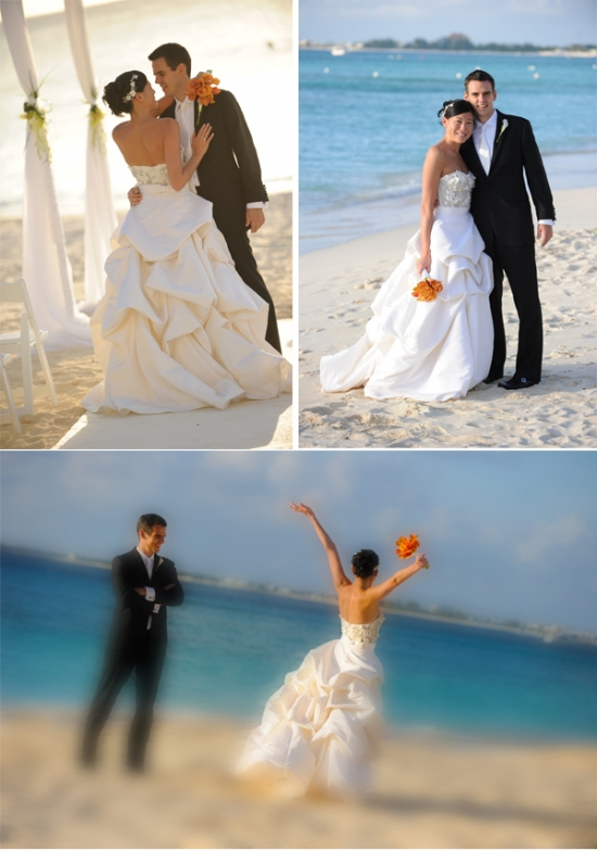 Cayman Islands Real Wedding ::  Jennifer and Philipp