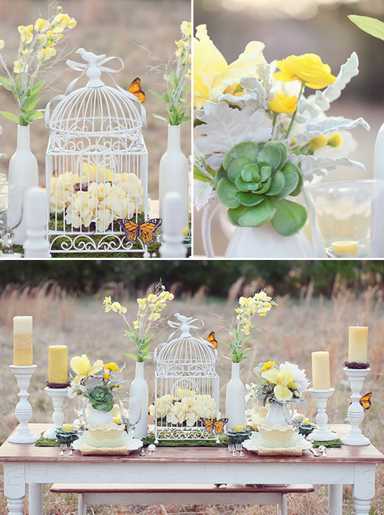 Cute Yellow Wedding Ideas