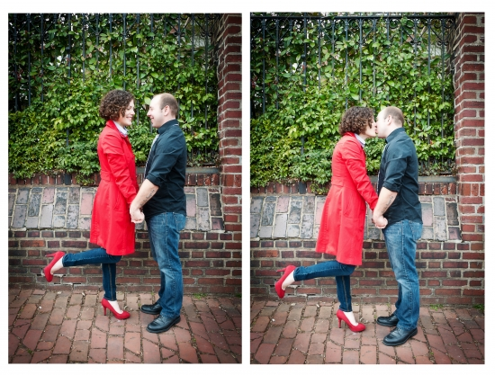 Engagement Shoot in Old Town Alexandria