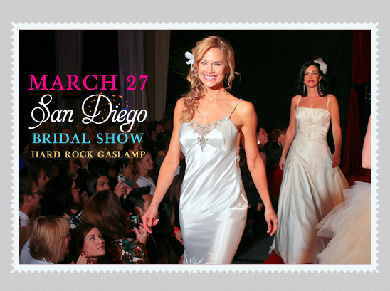 The Wedding Party Bridal Show This Saturday In San Diego