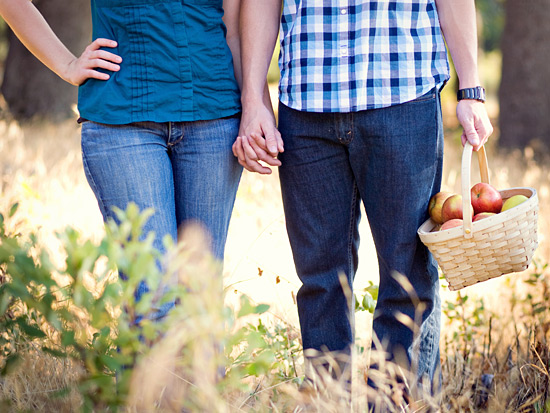 Young Love: Engagement Photography in Oak Glen