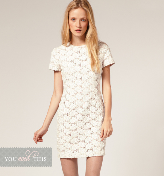 You Need This Short Lace Dress