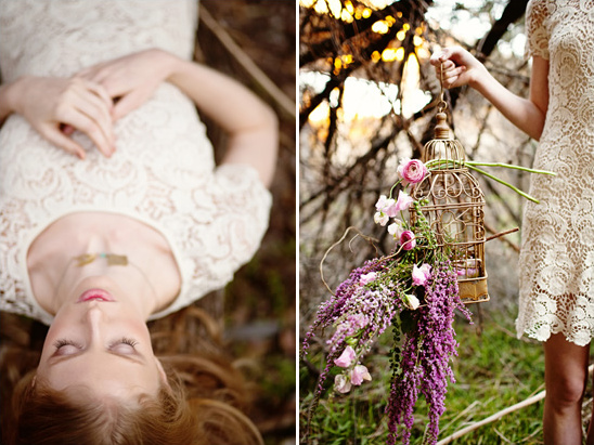 Woodsy Bridal Session