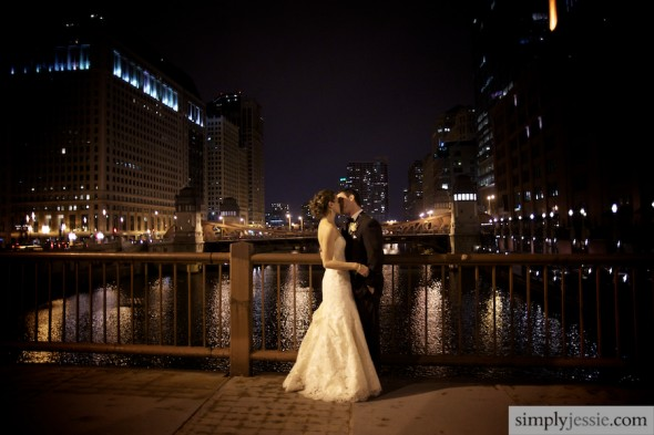 Andrea + Rob's Romantic Windy City Wedding