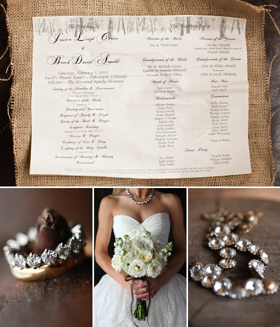 Devil's Thumb Ranch Colorado Wedding From Aaron Snow