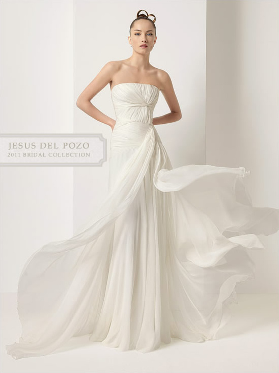 Jesus Del Pozo 2011 Wedding Dress Collection