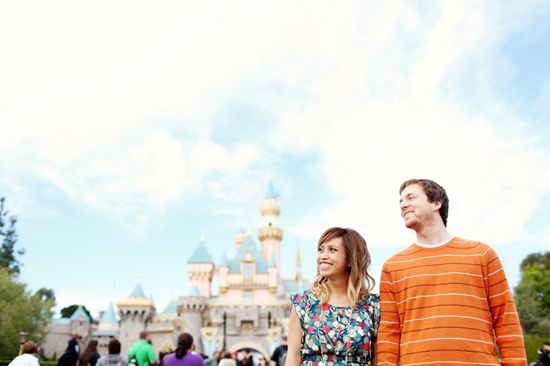{ disneyland engagement | adrienne gunde photography }