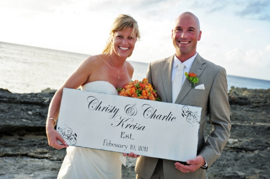 Cayman Islands Real Weddings ::  Christy and Charlie