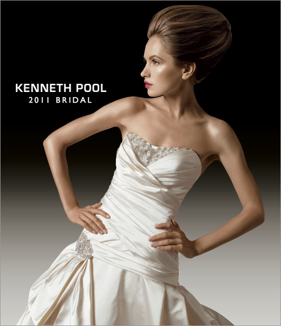 Kenneth Pool 2011 Bridal Dresses