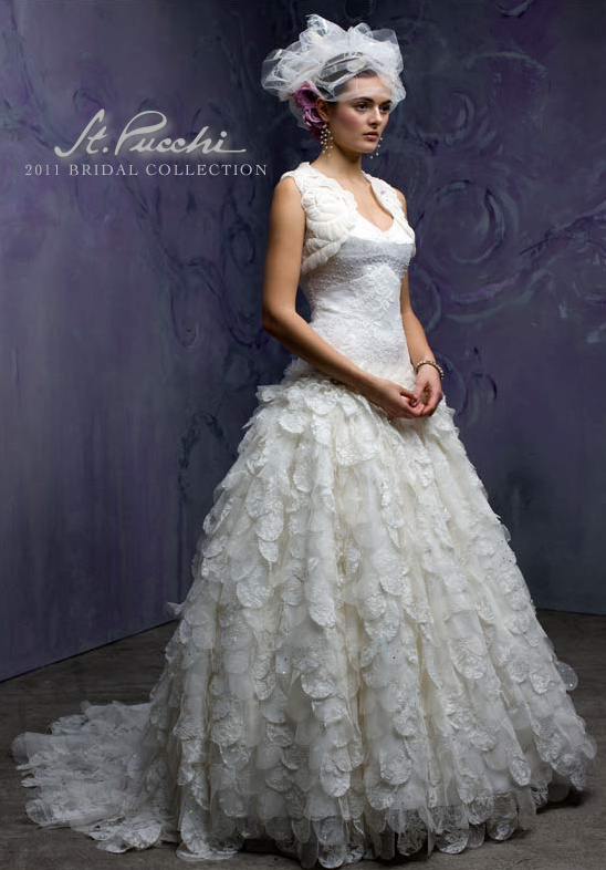 St. Pucchi Spring 2011 Bridal Dresses