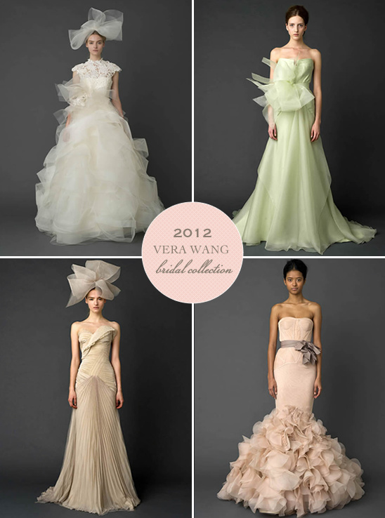 Vera Wang 2012 Bridal Collection