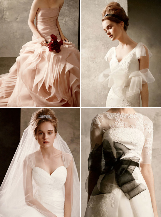 White by vera wang affordable wedding gowns for Affordable vera wang wedding dresses