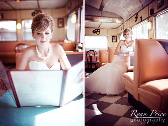 Bridals : Texas Diner Style