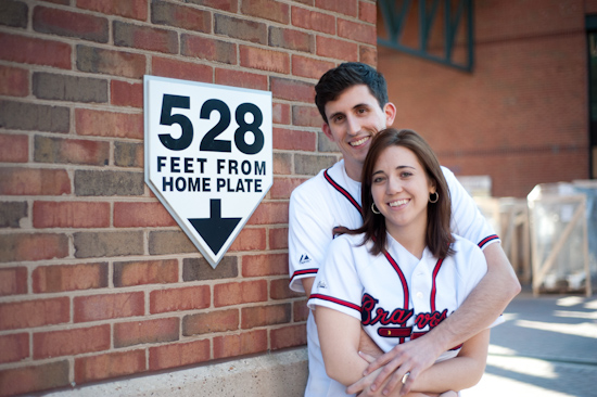 Turner Field Engagement Photo