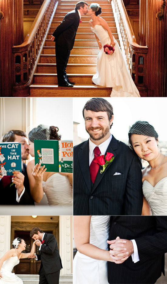 Wedding at the Hamlin Mansion in San Francisco